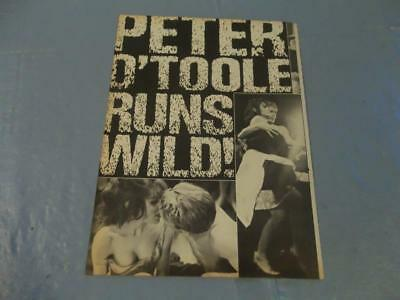 Peter O'Toole   clipping  #NV