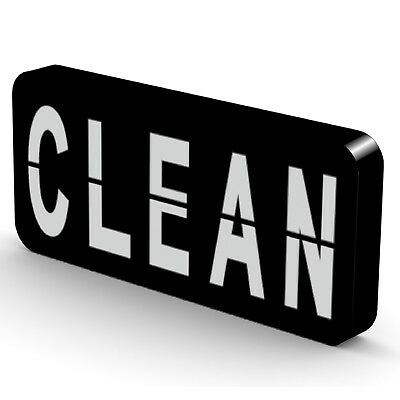 NEW Clean/Dirty Dishwasher Flip Magnet - Reversible Super Strong & Waterproof