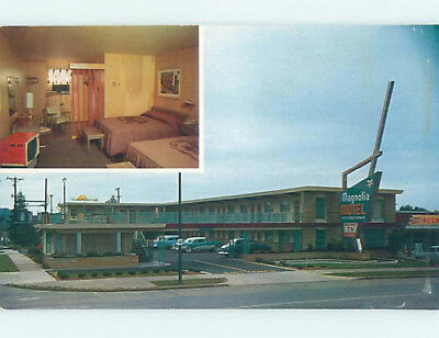 Damaged Pre-1980 MAGNOLIA MOTEL Knoxville Tennessee TN M4685