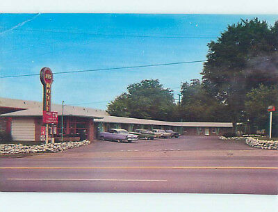 Damaged Pre-1980 LEE MOTEL Nashville Tennessee TN M4863