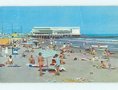 Bent Pre-1980 CONVENTION HALL AT BEACH Cape May New Jersey NJ M7389