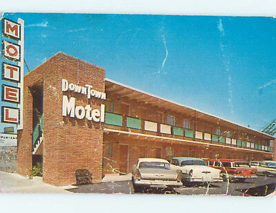 Damaged Pre-1980 DOWNTOWN MOTEL Memphis Tennessee TN M4597