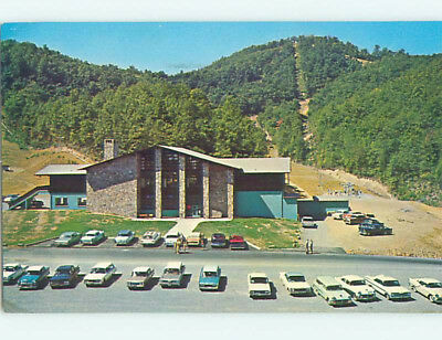 Pre-1980 LODGE SCENE Gatlinburg Tennessee TN J7688