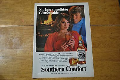 Southern Comfort 1979 Playboy Magazine ad - Excellent