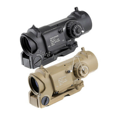 Tactical Scope Quick Detachable DR 1X-4X Adjustable Dual Role Sight For Hunting