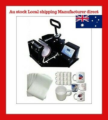Mug Sublimation Transfer Heat Press Machine Package