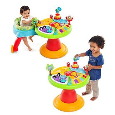 Baby Girl Activity Center Boy Fun Electronic Toy Seat Stationary Walker Table