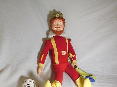 "Vintage The Magical Burger King Doll Figure 20"" Tall (1980) Knickerbocker"