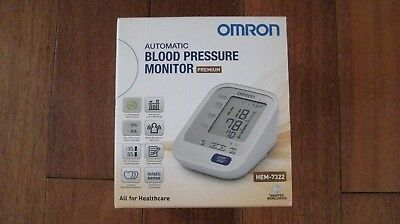 Omron Automatic Blood Pressure Monitor Hem-7322 Brand New Unwanted Gift