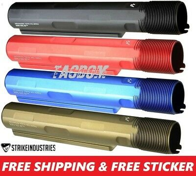 Strike Industries Advanced Receiver Extension 7 Position Stock Tube 7075 T6