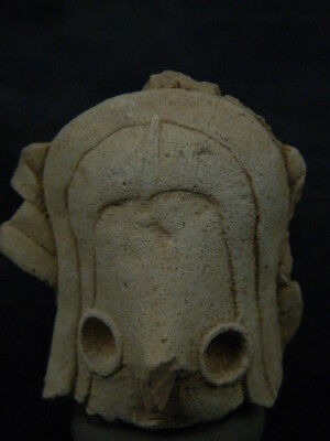 Ancient Indus valley Teracotta Head C.2500 BC   #T957#