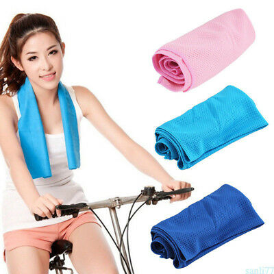 Cooling Chill Towel Ice Cool Towel Soft Breathable Chill Pad Instant Cool Useful