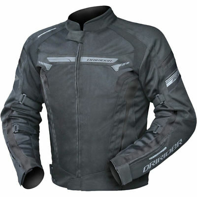 DriRider Air-Ride 4 Black vented Adventure Touring Motorcycle Jacket ALL SIZES