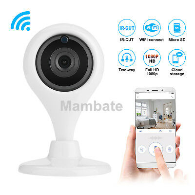 360 Wireless Wifi Smart Camera Home Security Surveillance Video System Detector