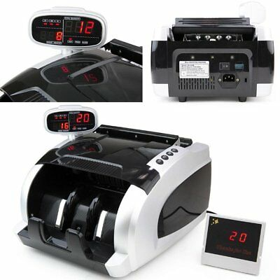 Money Bill Counter with Ultraviolet Magnetic Infrared (UV/MG/IR) Counterfeit