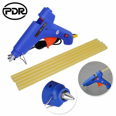 6pc PDR Paintless Dent Repair Glue Gun Body Dent Removal Glue Sticks Tools Set