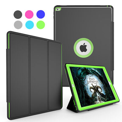 For iPad Pro 12.9 Inch Luxury Shockproof Screen Protector Stand Smart Case Cover