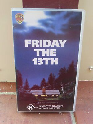 Friday The 13th (1980) - vhs movie