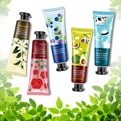 Hand Cream Moisturizing Soft Smooth Skin Cares Replenishment Water Floral