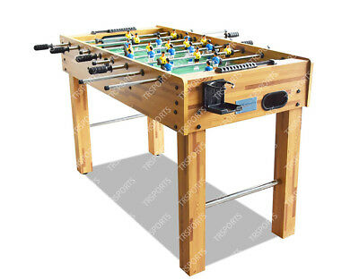 4Ft Wooden Soccer / Foosball Game Table Free Us Delivery