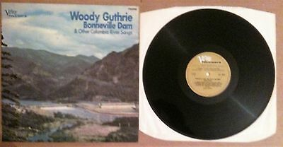 Woody Guthrie - Bonneville Dam & Other Columbia River Songs VLP 5019 UK '66 MONO