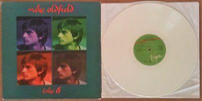 "Mike Oldfield ‎– Take 4 Virgin ‎VS23812 UK 1978 12"" ON WHITE VINYL EXCELLENT"