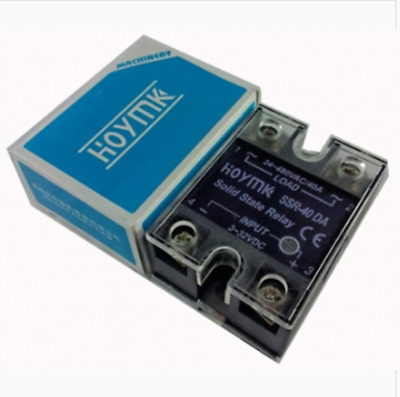New Hoymk SSR-40DA 40A DC-AC SSR 40DA Single Phase Solid State Relay