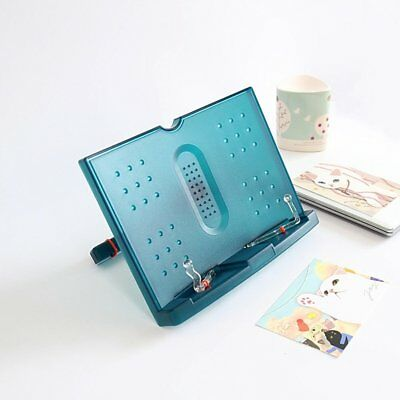 Adjustable Portable Music Cook Book Document Reading Desk Stand Holder For Ipad