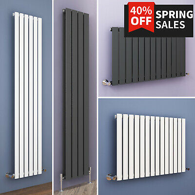 Horizontal Vertical Flat Panel Designer Rad Radiator Bathroom Central Heating