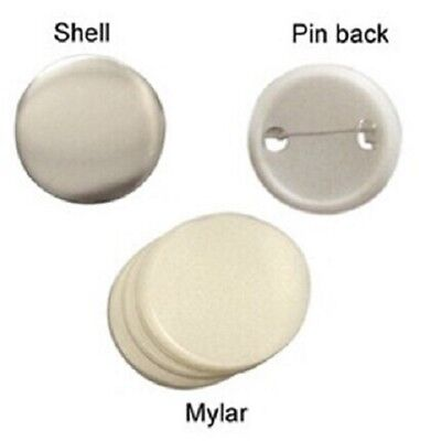 58mm 100sets Pin Badge Button Parts Supplies For button maker