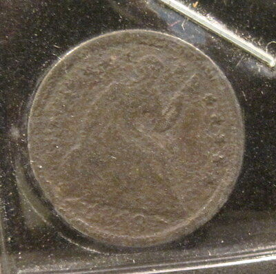 1853 Seated 1/2 Dime - AG Pitted - 251