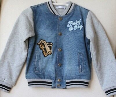 Dolce And Gabbana Baby Boys Blue Jazz Theme Jacket 24-30 Months
