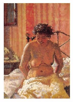 Postcard Art A NUDE IN AN INTERIOR (1911) by Harold Gilman MU2417 #23