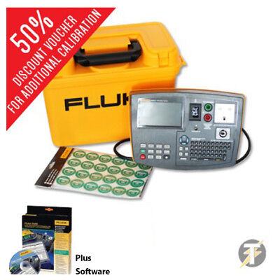 Fluke 6500-2 Downloadable PAT Tester with DMS Data Software
