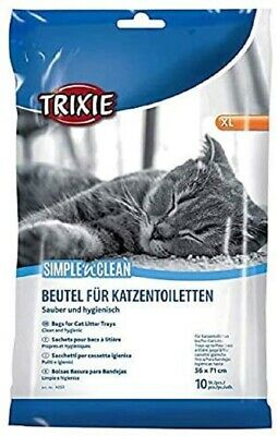 Trixie Cat Litter Tray Bags Liner XL Up To 56 × 71 Cm 10 Pc / 60 Pc Bulk Clean