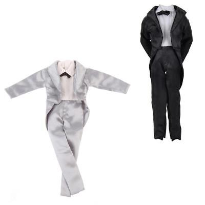 Prince Handmade Clothes Wedding Outfits Suit for Barbie Boyfriend Ken Dolls