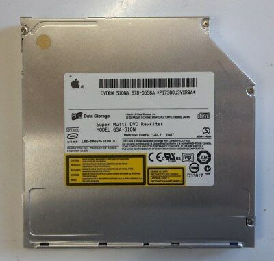 Apple Macbook Pro 15 13 2007 2008  Dvd Optical Dvd Superdrive S10Na Gsa-S10N