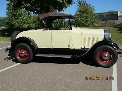 1929 Ford Model A stock 1929 ford model a rumble seat roadster