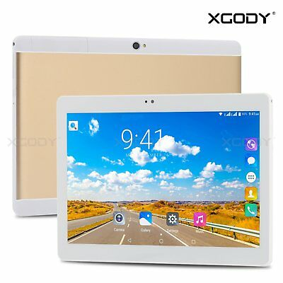 10.1'' Android Tablet PC Quad Core 16GB WiFi 3G GPS 2SIM Bluetooth Tableta XGODY