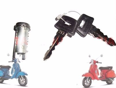 Vespa Px Lml Star Stella  Single Barrel Lock / Steering Wheel Lock @aud