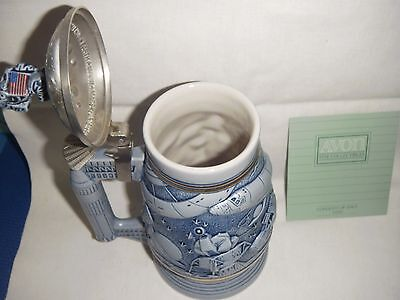 "AVON Collectable "" Conquest of Space "" Stein NIB"