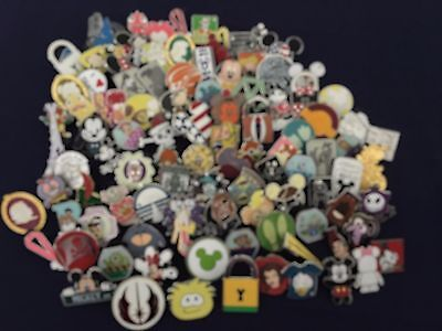 Disney Trading Pins  Lot Of 200 +2 Free Pins 100% Tradable -No Duplicates