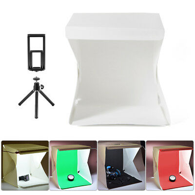 Mini Studio Light Room + Tripod + Phone/Tablet Holder + 4x EVA Backdrops LF798