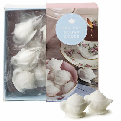 Teapot Shaped Sugar Cubes, 87g - Perfect for Cocktails & Tea Parties