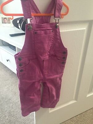 Hatley Girls Dungarees 12-18months