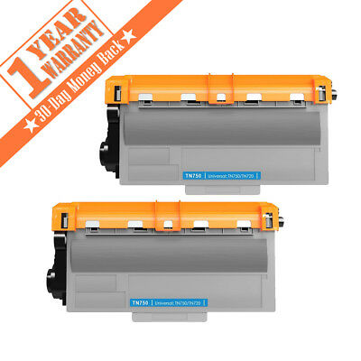 TN750 TN720 toner cartridge for Brother DCP-8155DN MFC-8810DW MFC-8910DW 2 PACK