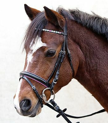 Snaffle, ponytrense, Bridle, ponytrensenzaum Sparkling Hearts MSH, SH, P