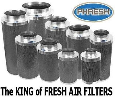 PHRESH High Quality Carbon Filters ALL SIZES Hydroponic Plant Growing