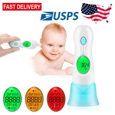 8 in 1 multi function Baby Adult Body Ear Forehead Infrared Digital Thermometer