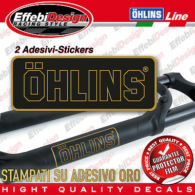 Adesivi Stickers Pegatinas OHLINS suspension forcelle Mountainbike RXF 36 FORK